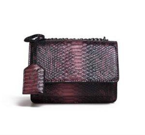 Bolso femenino del bolso de hombro de belleza Urban Classic moda de la nueva llegada de Venta Pu Versátil cocodrilo Serpentina color Flap