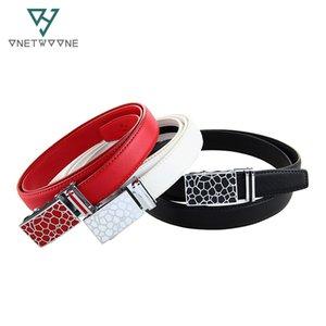 New Fashion Women Belts Female Genuine Leather Automatic Belts Best Selling Waist Girls Students 125cm 130cm Length