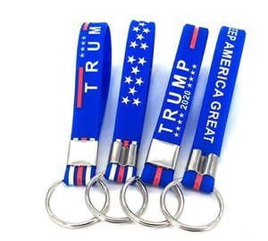 Trump Keychain 2020 Awerican Election Trump Silicone Keychain Trump 2020 Make American Great Silicone Keychain Party Gift