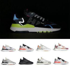 Comfort Mens Nite Jogger Running Shoes Moda Retro CG7088 3M Popcorn Designer Shoes Esporte Passeio ocasional sapatilhas Ar Livre Athletic