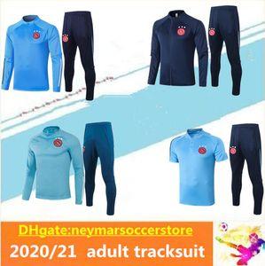 2020 2021 Ajax FC Soccer Jersey adulto agasalho 20 terno 21 Ajax Formação ZIYECH TADIC maillot de Futebol shirt homens rastrear terno