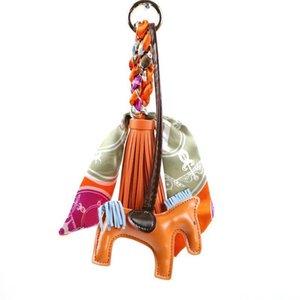 Мода PU кожа лошади кисточки сумка Подвески с ШАРФЫ кисточками Rodeo Horse Bag Украшение для сумки украшения Валентина подарок