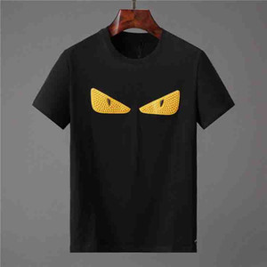 PP Mode Luxuxentwerfer Männer T-Shirts der Männer-T-Shirt mit Buchstaben Sommer Kurzarm Herren T-Shirts Medusa-T-Shirt Kleidung