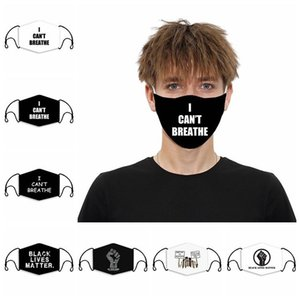 I can't breathe adult children's Anti Dust mask 3D printed Face Mask 7 style with Filter Designer Masks SS51230