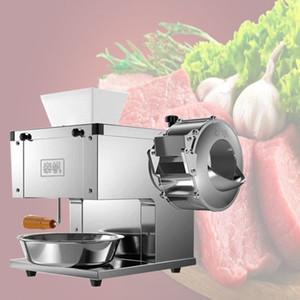 Kommerzielle Schweinefleisch Fleisch-Schneidemaschine Desktop-Fleisch Slicer Fleischwolf Elektro 850W Großkraftfleischschneidemaschine