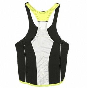 Mâle Réservoirs d'entraînement musculaire d'été sans manches Gilets T-shirts Vêtements pour hommes T-shirts CLXN #