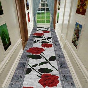 식물 플라워 호텔 호텔 바닥 매트 도어 매트 복도 복도 전체 카펫 통로는 컷 코일 매트 도매 할 수있다