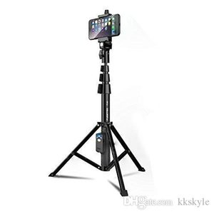 Selfie Stock-Stativ Fugetek, integriert, tragbare All-In-One Professional Heavy Duty Aluminium, Leichtgewicht, Bluetooth Remote