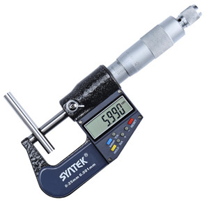 0.001mm Digital Micrometer 0-100mm Electronic Outside Micrometers Chrome Plated Caliper Gauge Measuring Tools 0-25-50-75-100mm