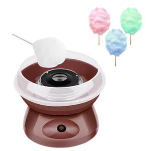 Cotton Candy Machine eléctrica del hogar de DIY algodón dulce del fabricante del caramelo 220v enchufe de la UE / 110v de EE.UU. niña Plug Regalo del muchacho de los niños