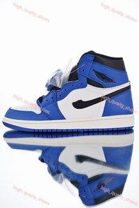 Nike Air Jordan 1 shoes 2020 neue High-1 OG MID X Travis Scotts Basketball-Schuhe hococal Turbo Grün Origin Geschichte Gs Gebannt NRG Rebel XX Union Retros 1s Schuhe