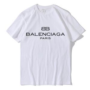 남성 디자이너 2018 여름 남성 여성 커플 디자이너 맨 티 짧은 소매 풀오버 BB 크기가-XXL를 패션 캐주얼 브랜드 T 셔츠 탑
