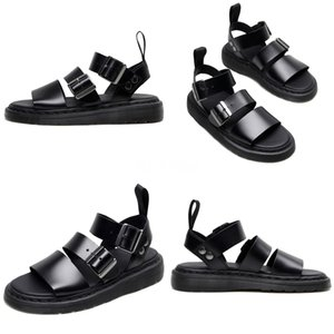 ASILETO Plus Size 31-46 New Genuine Leather Sandals Women Shoes Fashion Flat Sandals Cow Leather Summer Rhinestone Ladies Shoes#567