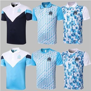 2021 Olympique de Marseille Soccer polo tracksuit kits 20 21 OM Marseille Maillot De Foot CABELLA PAYET L.GUSTAVO jacket training suit