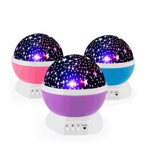 Sternenhimmel-Nachtlichtprojektor, 360 Grad drehbarer Lichtprojektor mit 8 Farben-Licht ändert für Kind-Baby
