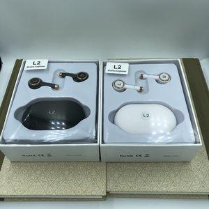 귀에 이어폰의 새로운 TWS L2 무선 이어폰 블루투스 5.0 무선 스포츠 전화 용 마이크 핸즈프리 이어폰과 헤드셋