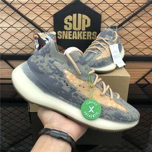 2020 nuovo arrivo superiore Kanye 380 Blu Avena riflettente Basf Uomini Donne Scarpa Running Kanye West 380 Mist Sport sneakers