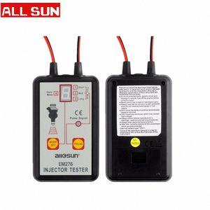 모든 일 EM276 전문 인젝터 테스터 연료 인젝터 4 개 인 펄스 모드 테스터 강력한 연료 시스템 검사 도구 EM276 gq5I 번호
