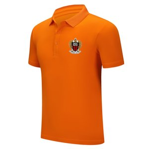 2020 OGC Nice yaz moda yeni üst seviye Yaka gömlek erkek spor futbol polo yaka gevşek nefes ter eğitim tişört