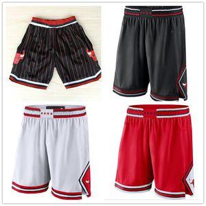 ChicagoBullsMen pants city Swingman Performance basketball Shorts S-2XL