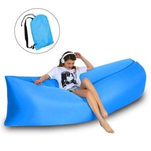 여행 피크닉 야외 공기 소파 경량 접이식 휴대용 게으른 안락 침대 잠자는 Hooru 풍선 소파 비치 캠핑