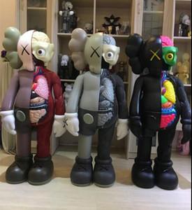 KAWS 4FT disséqués COMPAGNON Kaws anatomie 130cm Grande figurine poupée exécution exquise Les joints peuvent déplacer des matériaux en vinyle