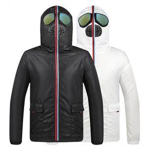 2020 nueva protección gafas protectoras Altman ropa espacio de la camisa de estilo pareja de verano de los hombres de la piel Pareja desgaste de la ropa de protección solar