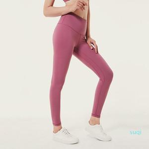 Fashion- Womens Leggings Women Pants Sports Gym Wear Leggings Elastic Fitness Lady Overall Full Tights Workout Yoga Pants Size XS-XL