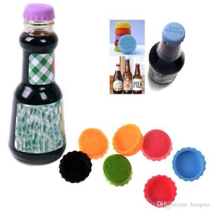 New 3.2*1cm Silicone Beer Bottle Caps Sealing Plugs Wine Corks Seasoning Lids Bottle Covers Kitchen Gadgets Supplies