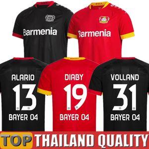 Neu Bayer 04 Leverkusen Fußballtrikots HAVERTZ 20 21 VOLLAND Leverkusen ALARIO Fußballtrikot DIABY Zuhause Weg Top Thailand Uniform