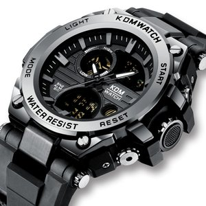 Relogio Masculino KDM Fashion Men Sport Watch 2020 Male LED Digital Quartz Wrist Watches Men's Top Digital Watches