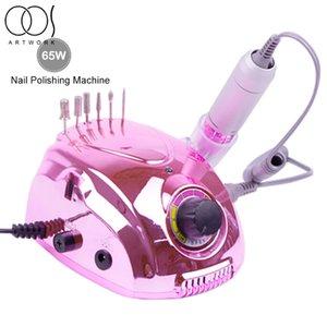 65W 30000RPM Elétrica unhas broca Máquina Manicure Broca Remoção MachineAccessory Com cutícula Gel Polish Para Ferramentas do prego