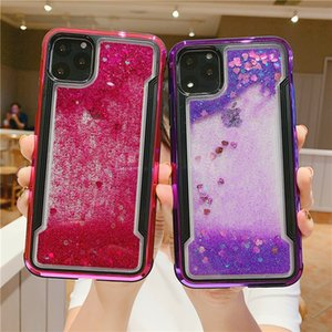 Love Quicksand Protect Cover Case For iPhone 11 pro max Anti-drop protection phone200804