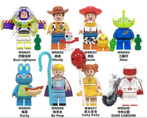 블록 미니 피겨 장난감 블록 모델 건물을 구축 조립 8 개 스타일 5cm 빌딩 블록 미니 피겨 어린이 교육 조립 장난감