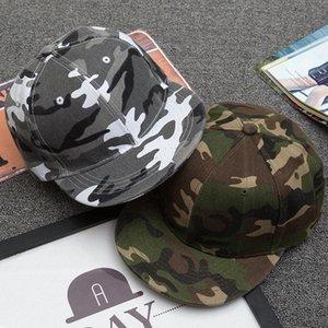 Moda Kamuflaj Kamuflaj Beyzbol Şapkası Hip Hop Şapka Düz Snapback DoQk #