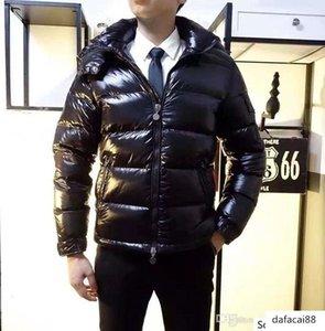 Men Women Classic Casual Jacket Shiny matte Down Coats Outdoor Feather dress Unisex Winter Warm Coat outwear
