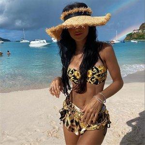Women' s Sexy Bikini Swimwear Summer Outdoor Bikini Beachwear Fashion Bikini Two Piece set Swimsuit for Women