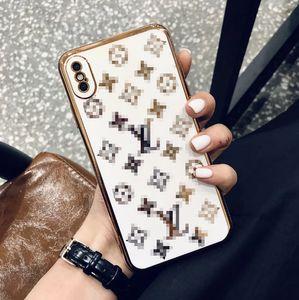 Atacado Designer Phone Case Marca telefone celular capa para o iPhone Luxo Mulheres Homens Lady 11 Pro Max X XS 7P 8P mais 7 8 20070807A