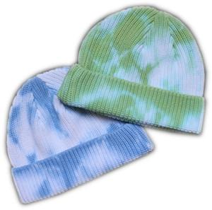 Tie Dye Slouch Beanie Hat Hat Designer Sombreros de cráneo para las mujeres Hombres Hombres Hechas de punto Otoño Invierno Outdoor Sport Ins Hip-Hop Bonnet Hat Headwear WF708
