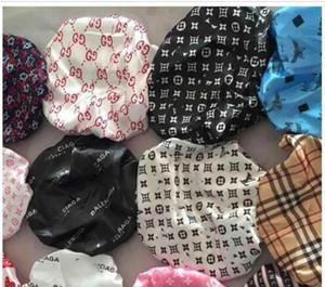 Durag moslemischen Frauen Stretch Schlaf Turban Mütze Schal Silky Bonnet Chemo Beanies Caps Krebs Kopfbedeckung-Kopf-Verpackungs-Designer Haar Accessorie