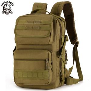 SINAIRSOFT Homens 25L Exército Outdoor Tactical Backpack Trekking curso esporte Mochilas Camping Caminhadas Camouflage Bag LY0092
