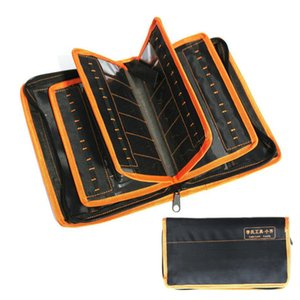 2 in 1 LiShi Tool Bag For Lishi Tool Set 50pcs Can Be Packed Locksmith Tools Thicken Tool Storage Bag
