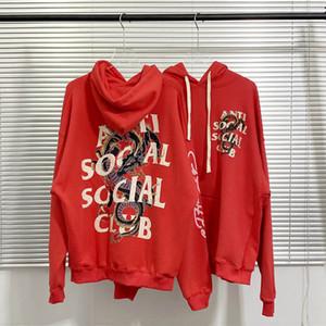 ASSC Kapüşonlular Karşıtı Sosyal Social Club Kapüşonlular Drangon Elmas Erkekler Hoody Kış Sonbahar Streetwear Kadın Kazak Günlük Moda Coat gevşek