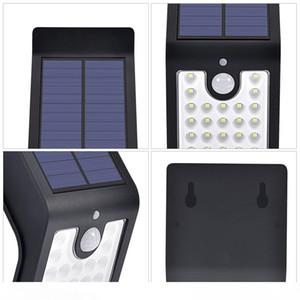 Outdoor Lighting T32 Solar Wall Light for Garden Waterproof Garden Courtyard Lamp Lighting LED Wall Lamp