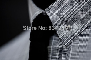 Custom MADE 100% COTTON Glen Plaid dress shirts, BESPOKE Casual TAILORED Glen Check DRESS SHIRTS, 35 fabric choices