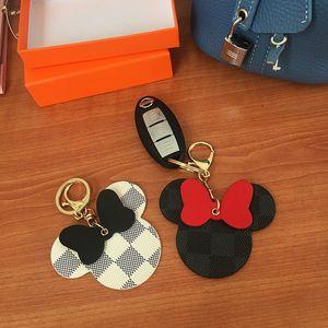 Designer in pelle Portachiavi PU Catene Animal Bag ciondolo ragazza fascino Auto Portachiavi Titolare Moda Donna Designer di gioielli Portachiavi regalo A1
