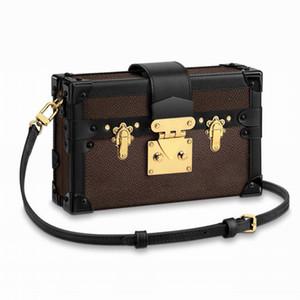 الشحن مجانا ! أعلى جودة النساء الزينة الحقيبة الفاصل الكتف حقيبة PETITE ماليه قماش الأيقونات حقيبة يد M44199 الجيب مربع الصعب حقائب