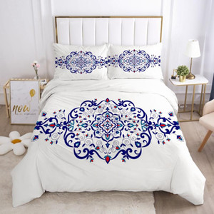 3D Bedding Sets Quilt Covers Pillow Shams Duvet Cover Sets Bedclothes Bed Linens Full Twin Double Simple Flower Home Textile