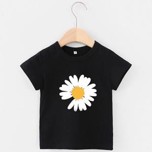 New Fashion Summer 3-7 Years Old Baby Boys Girls Print T-shirts R Shirt Tops Cotton Children Tees Kids Clothing