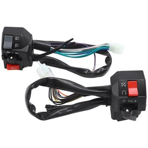 22mm Motorcycle Switches Motorbike Horn Button Turn Signal Electric Fog Lamp Light Start Handlebar Controller Switch